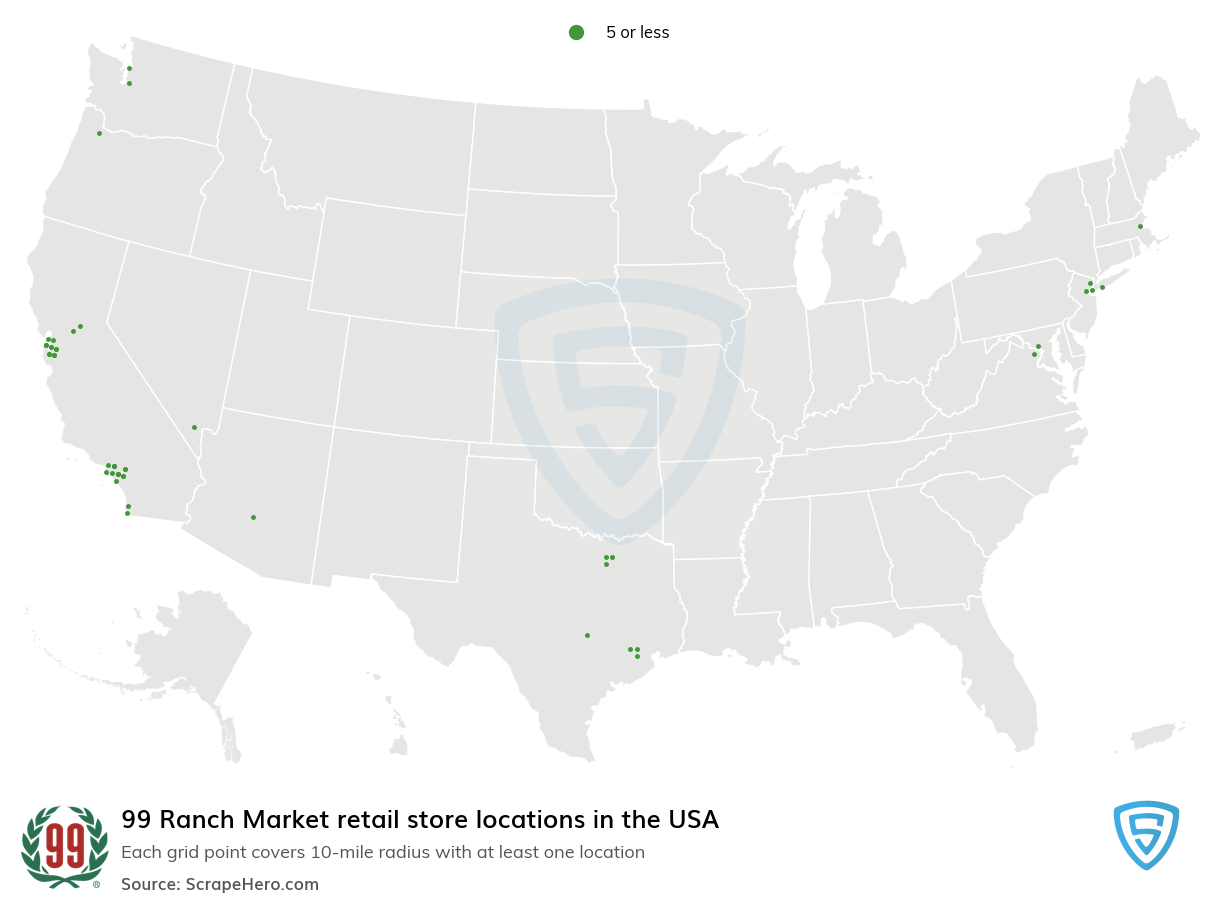 99 Ranch Market store locations