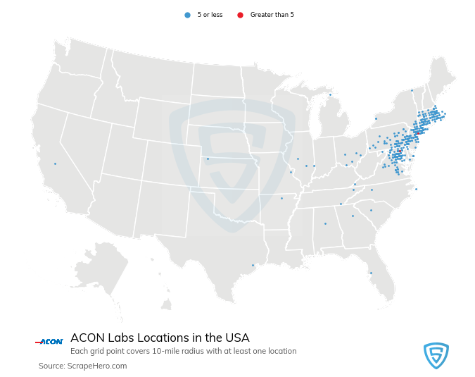 ACON Labs locations