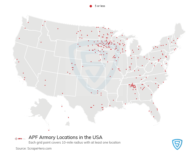 APF Armory locations