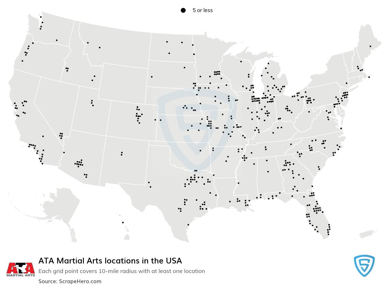 ATA Martial Arts locations