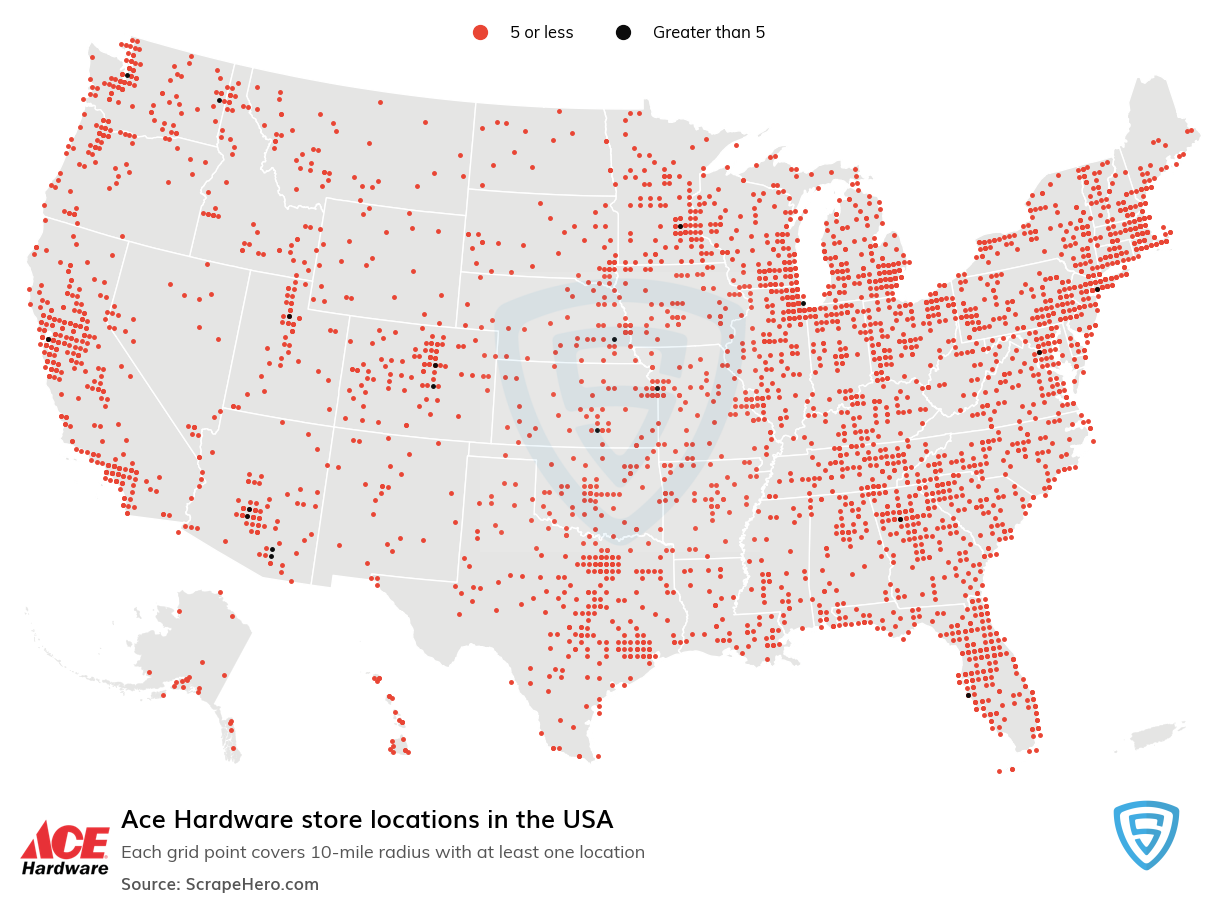 Ace Hardware store locations