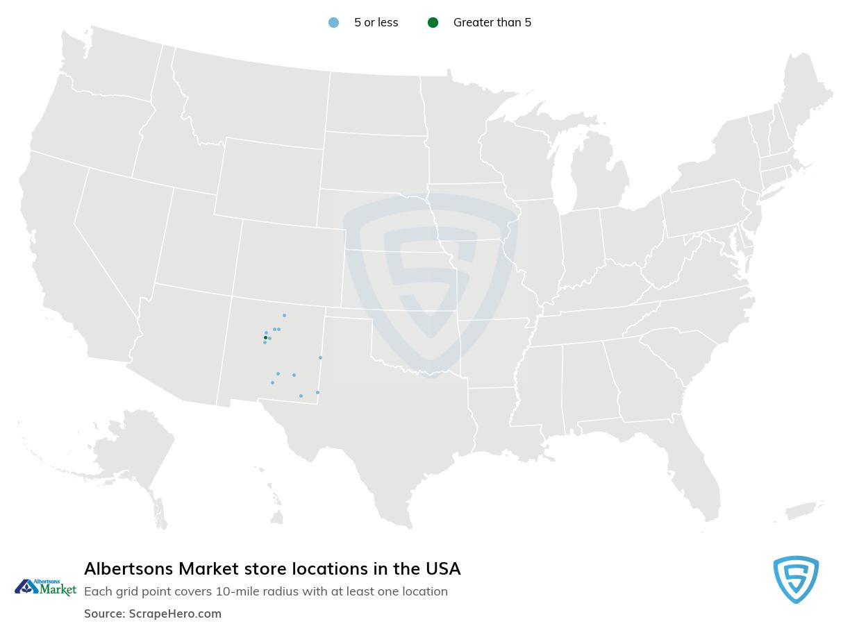 Albertsons Market Store locations
