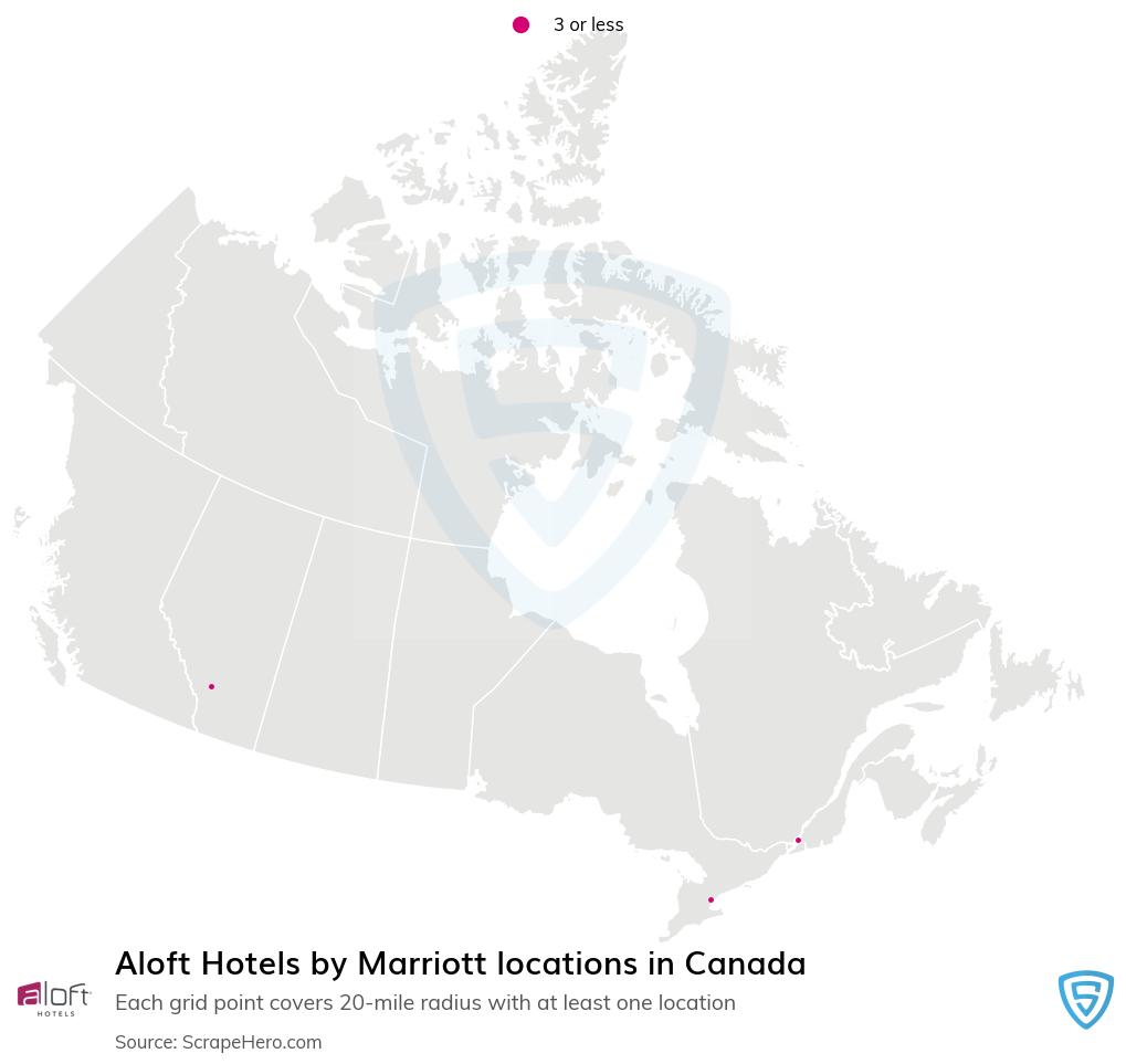 Aloft Hotels locations