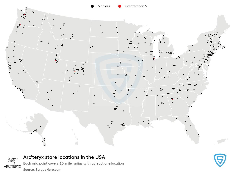 Arc'teryx locations