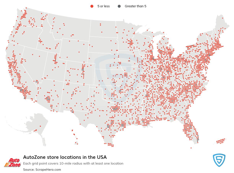 AutoZone store locations