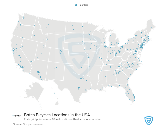 Batch Bicycles locations