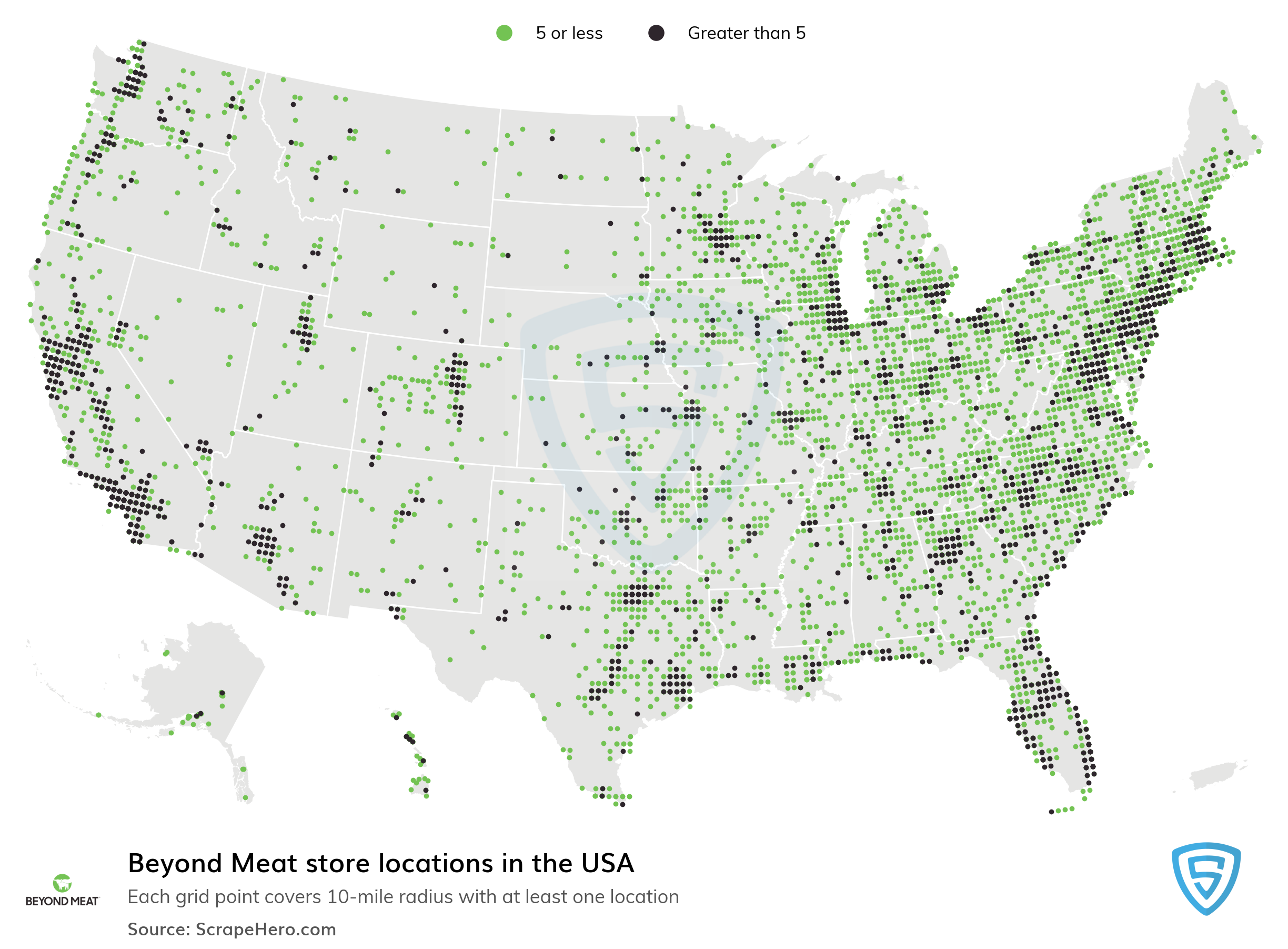 Beyond Meat Store locations