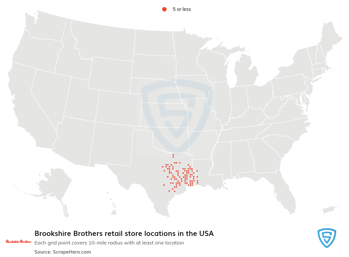 Brookshire Brothers store locations