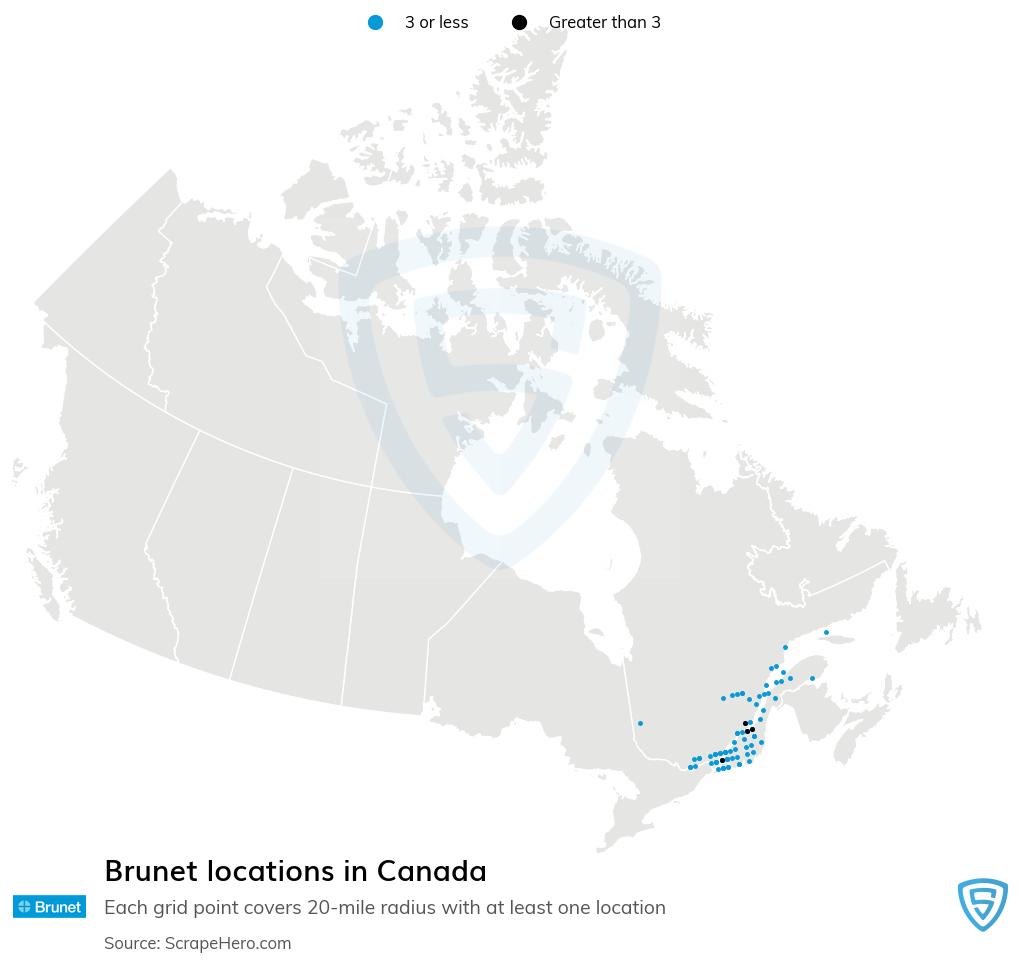 Brunet pharmacy locations