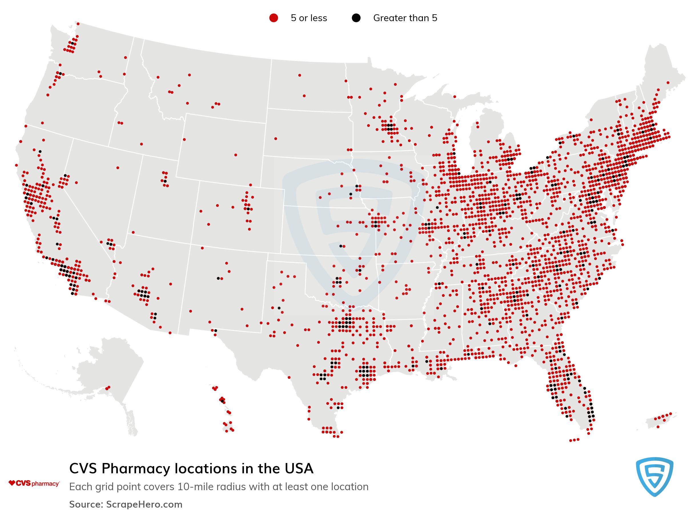 CVS Pharmacy  locations
