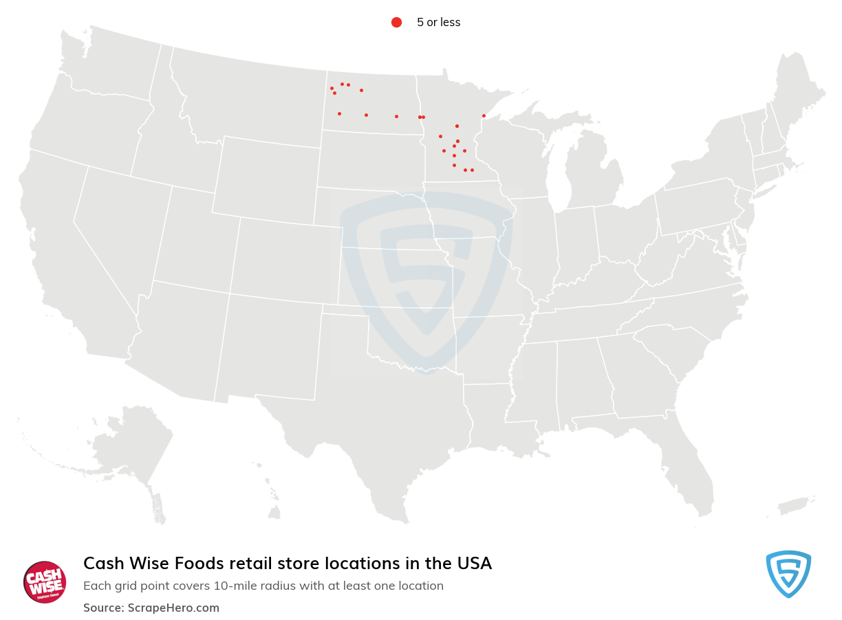 Cash Wise Foods store locations
