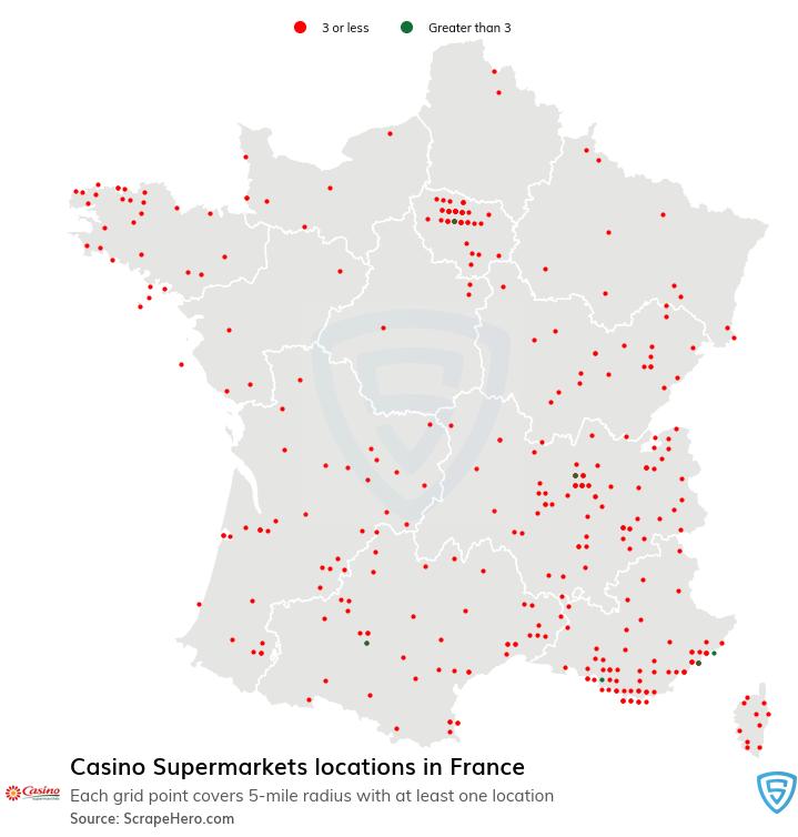 Casino Supermarkets locations