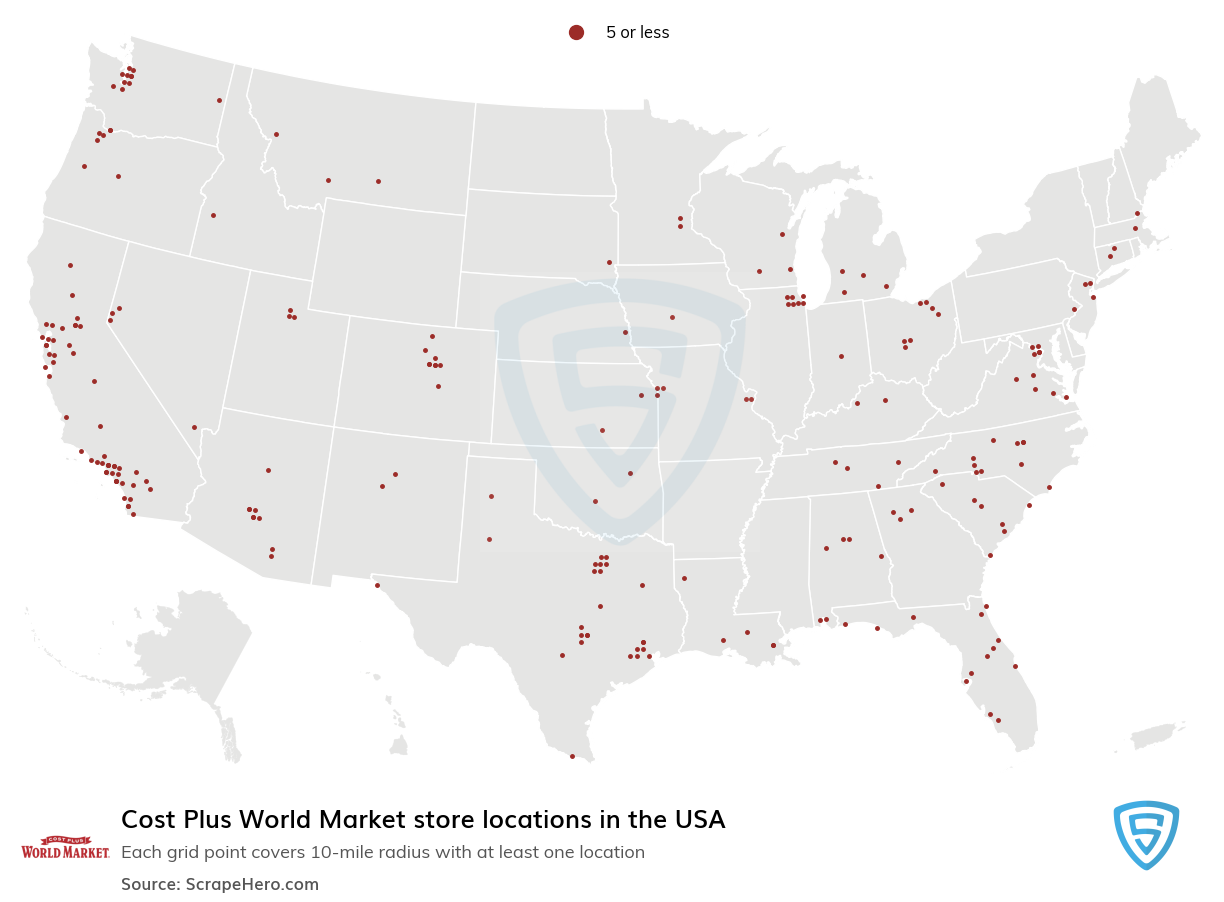 Cost Plus World Market store locations