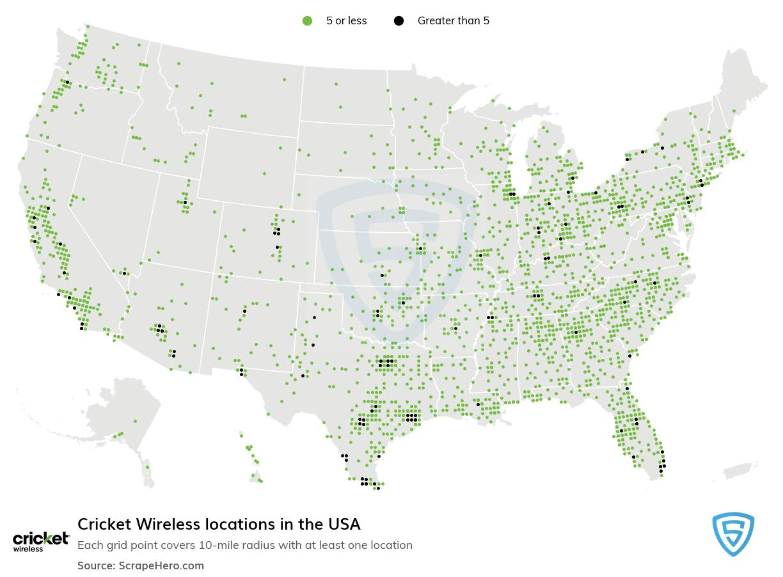 Cricket Wireless store locations