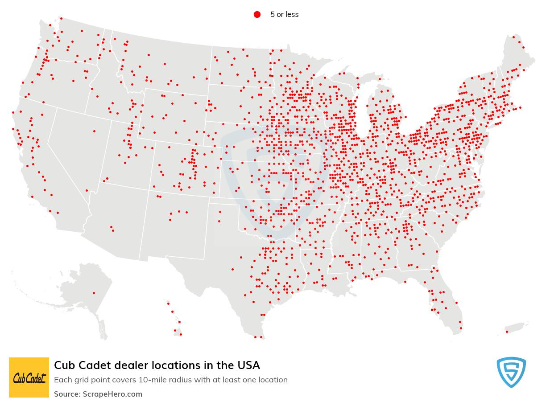 Cub Cadet dealership locations