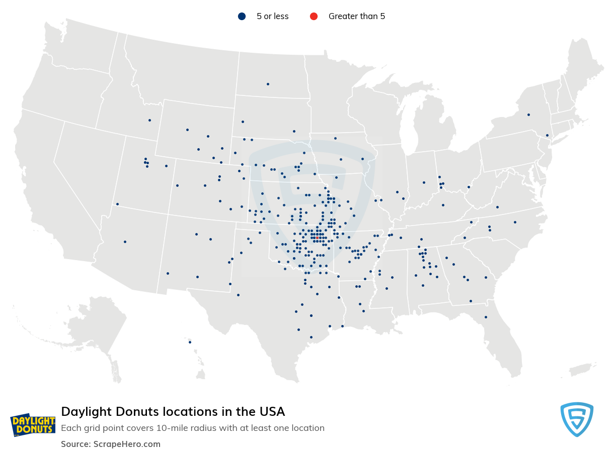 Daylight Donuts locations