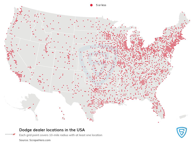 Dodge dealership locations