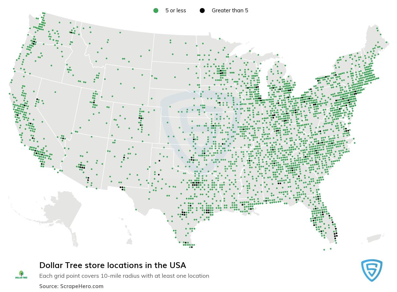 Dollar Tree store locations