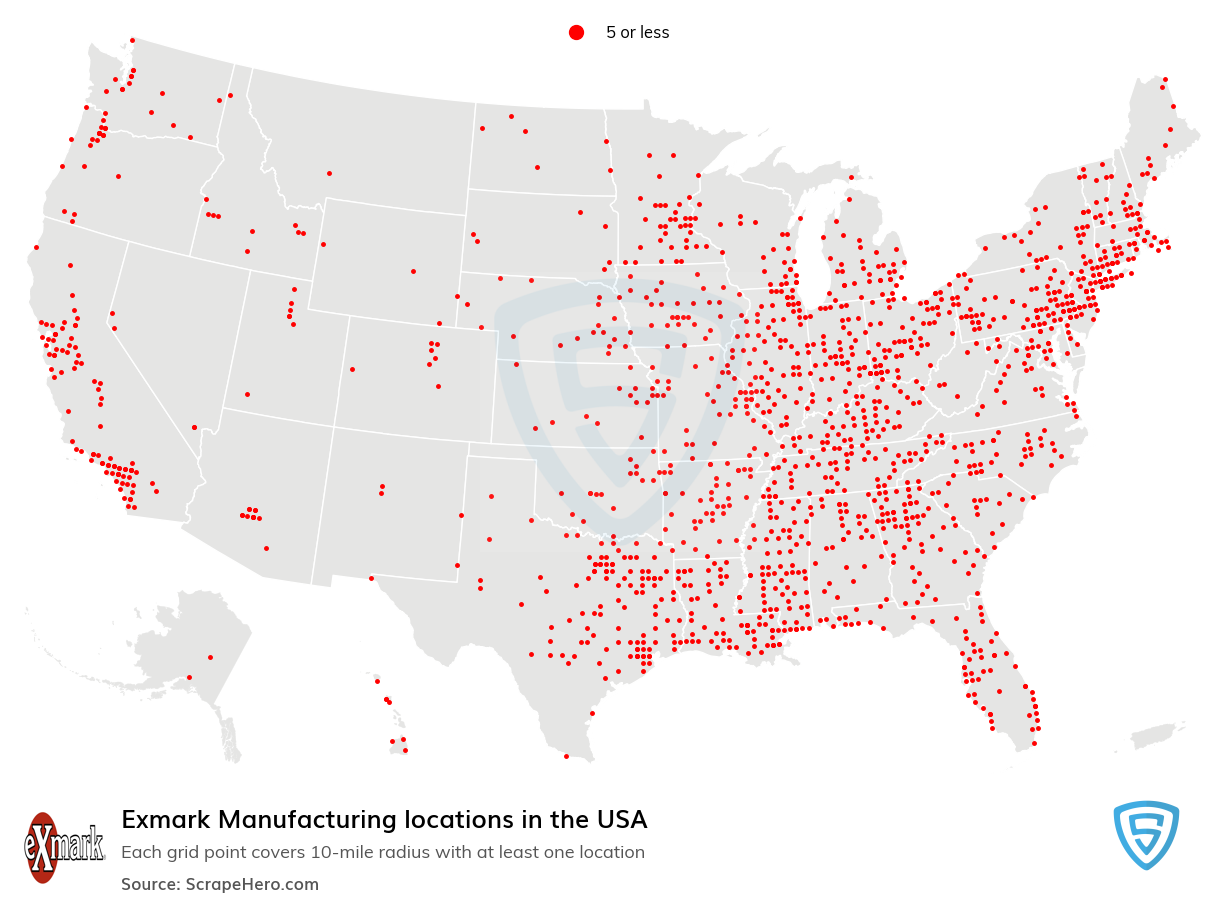 Exmark Manufacturing locations