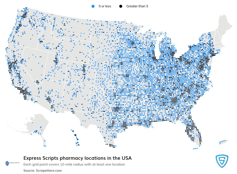 Express Scripts locations