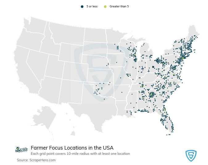 Farmer Focus store locations