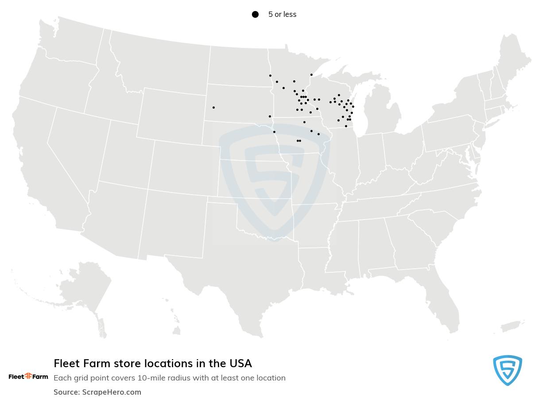 Fleet Farm store locations
