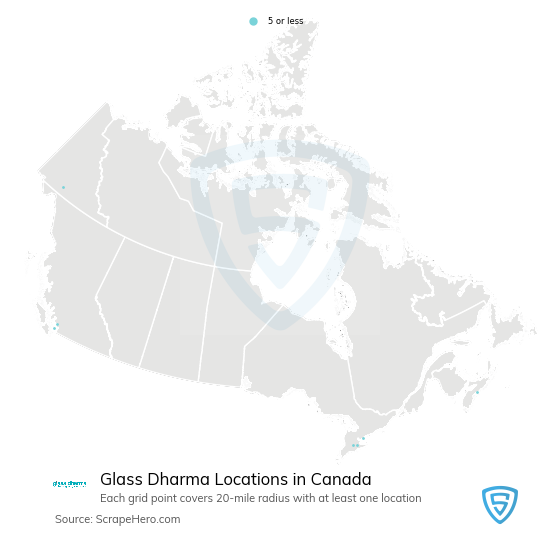 Glass Dharma store locations