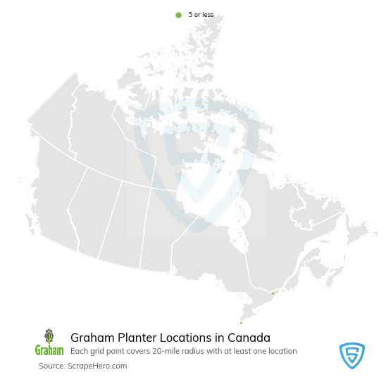 Graham Planter dealership locations
