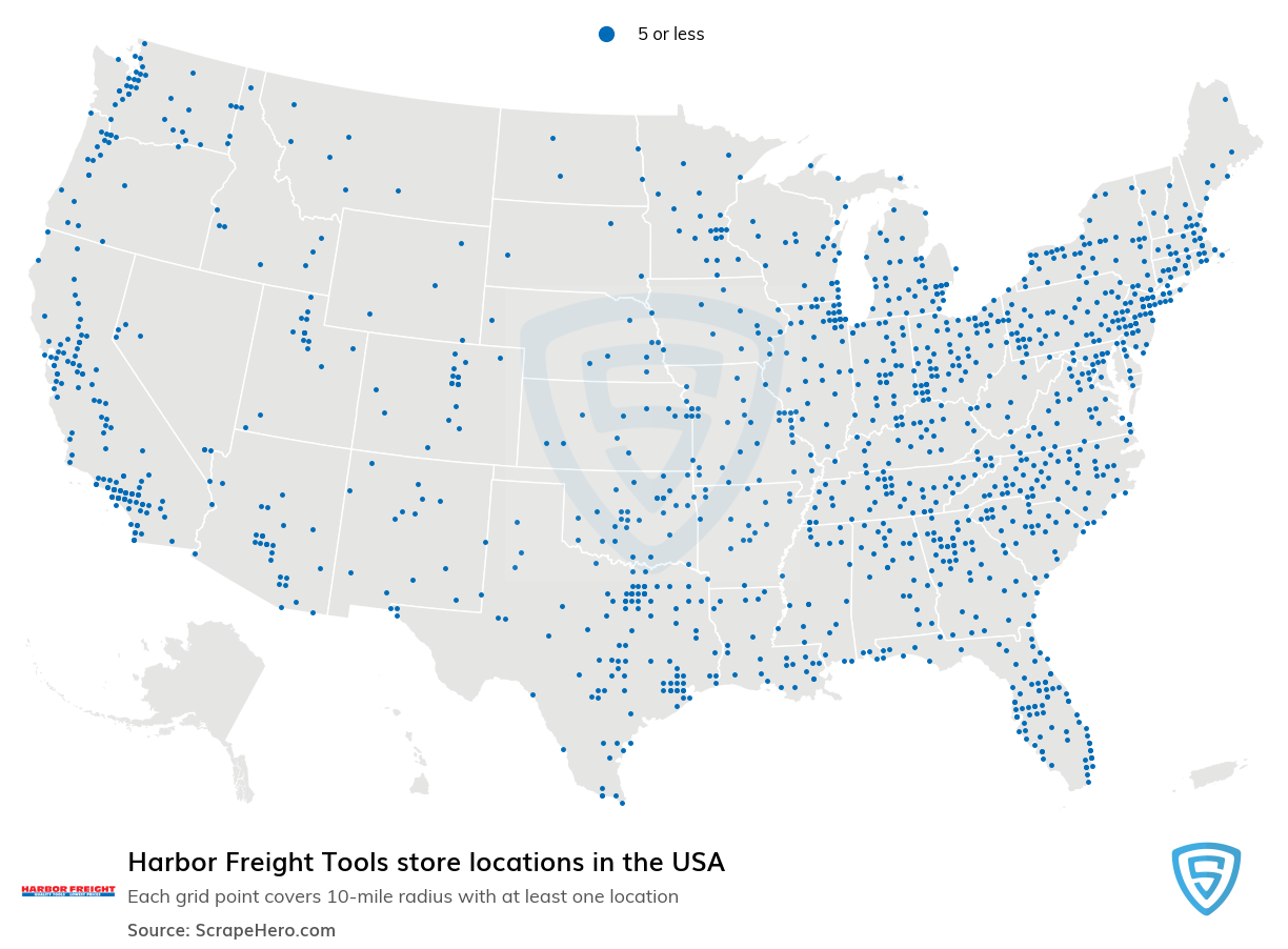 Harbor Freight Tools store locations