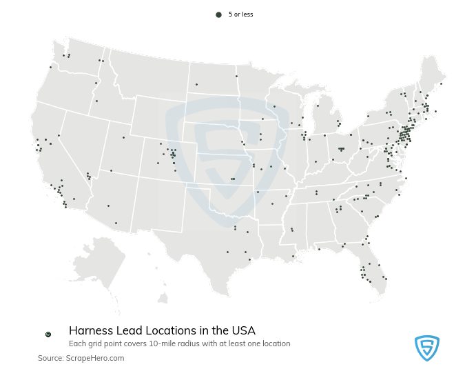 Harness Lead store locations