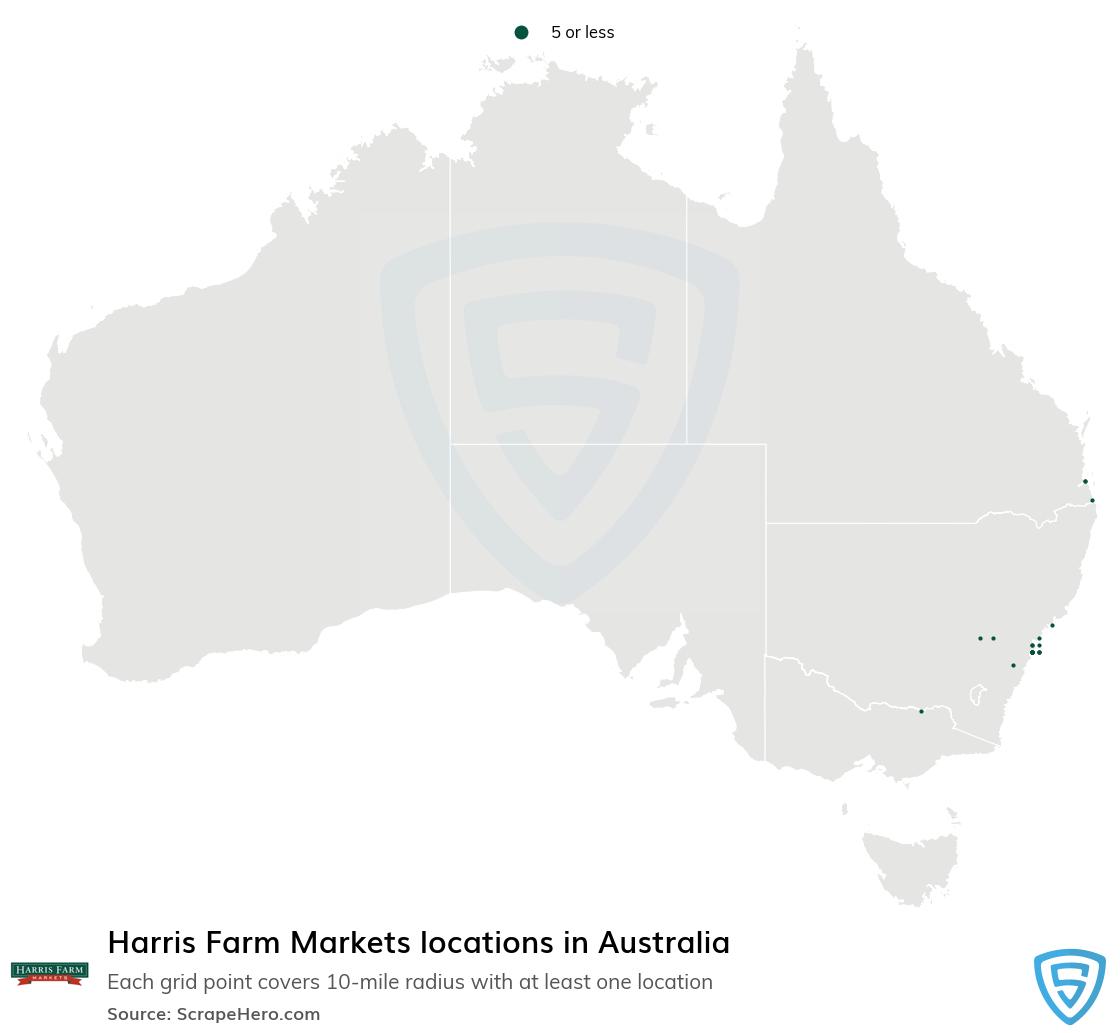 Harris Farm Markets store locations