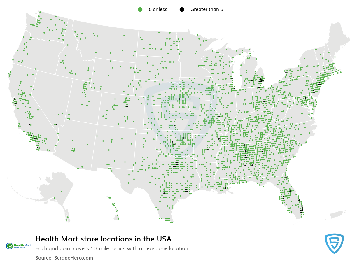 Health Mart Store Locations in the USA