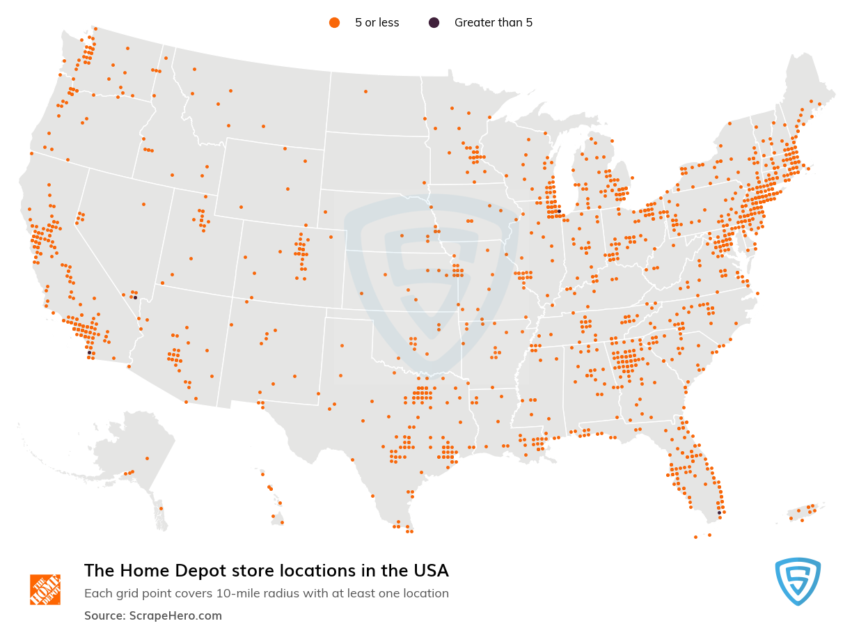 The Home Depot store locations