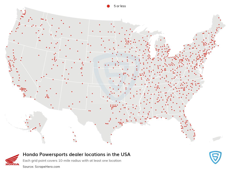 Honda Powersports locations