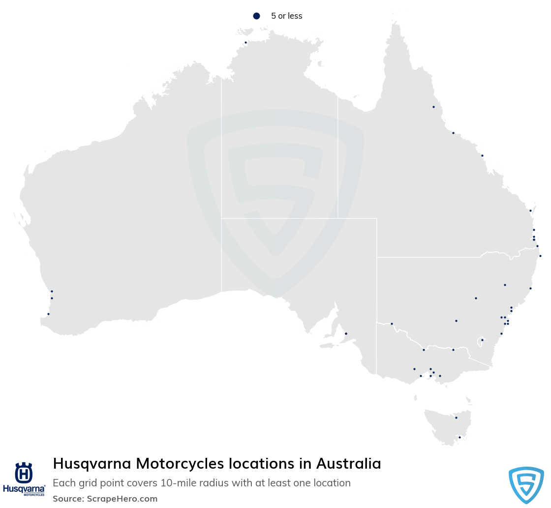 Husqvarna Motorcycles dealership locations