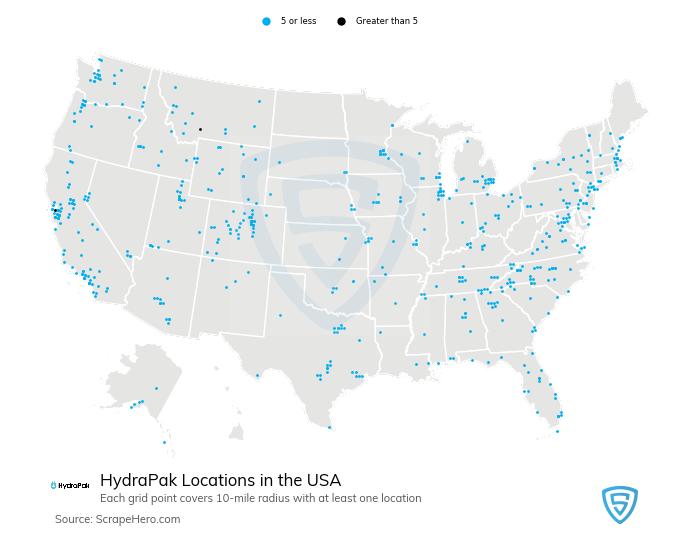 HydraPak store locations
