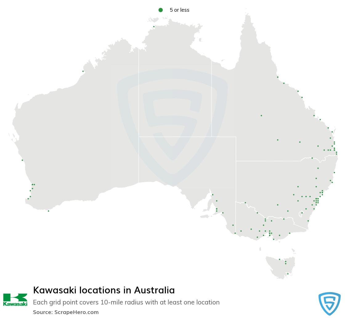 Kawasaki dealership locations