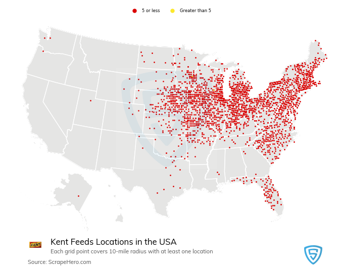 Kent Feeds locations