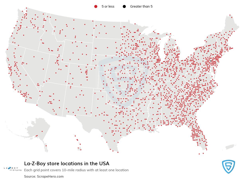 La-Z-Boy store locations