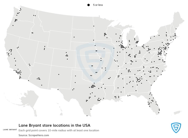 Lane Bryant store locations