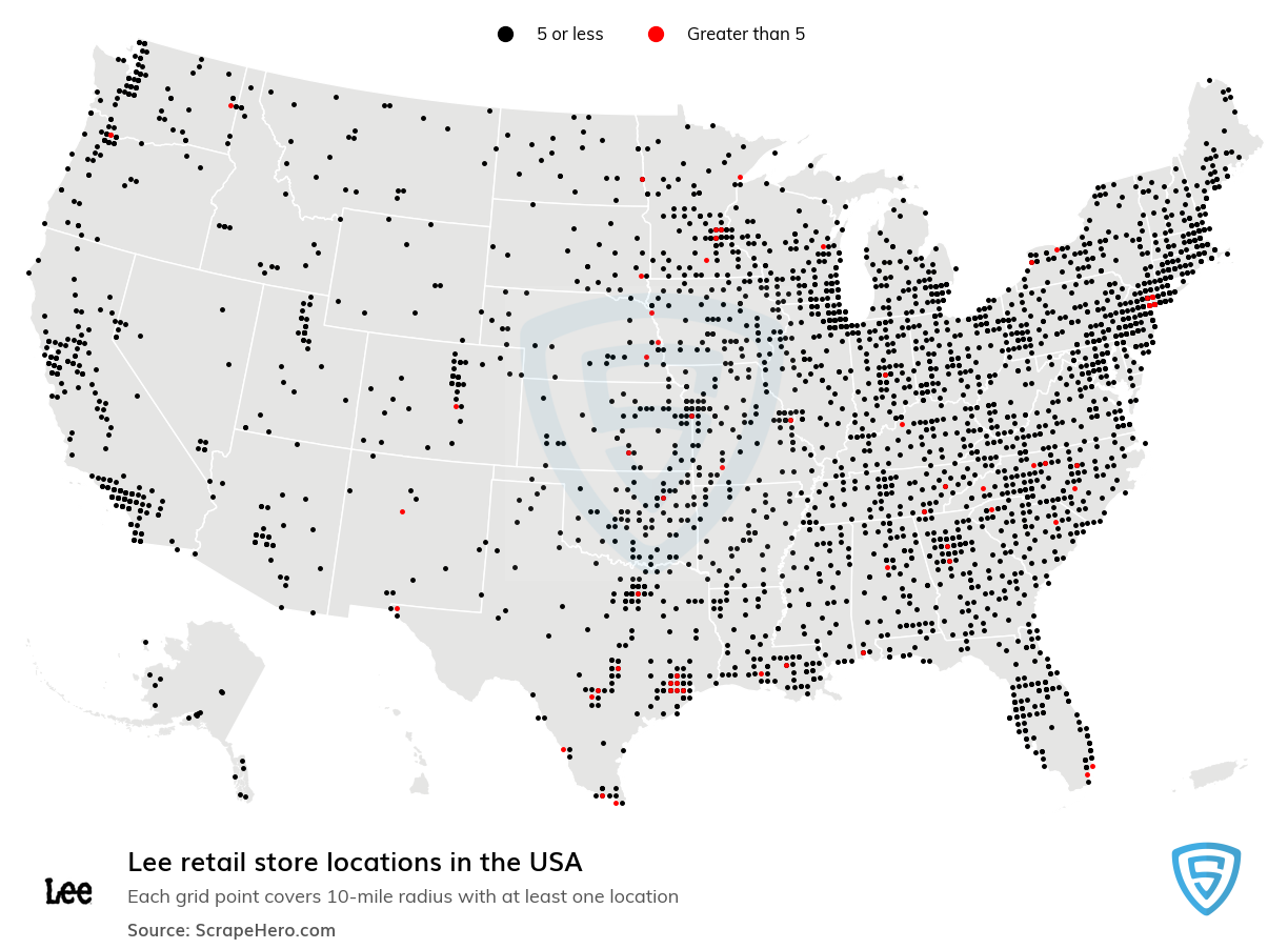 Lee store locations