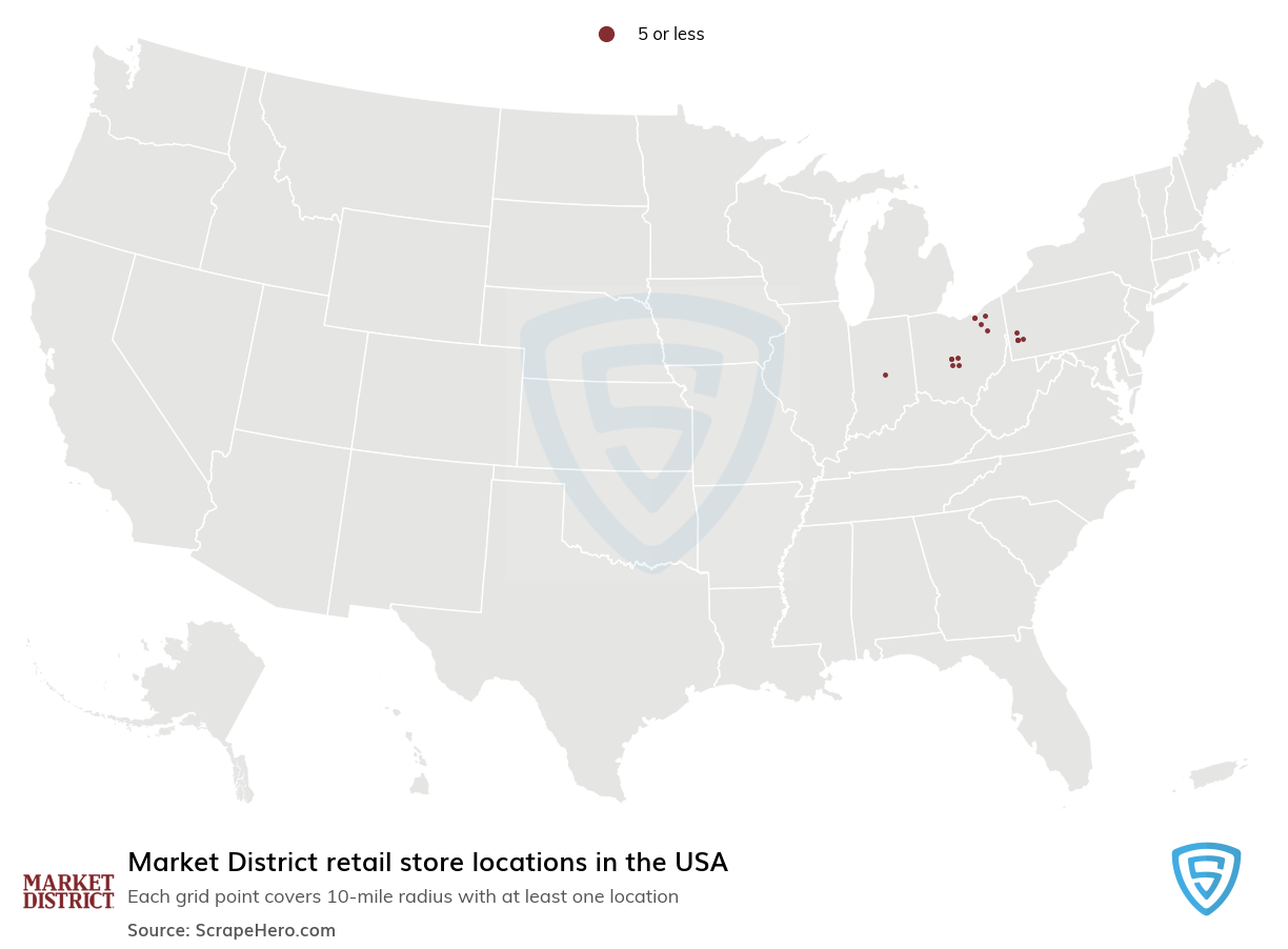 Market District Store locations