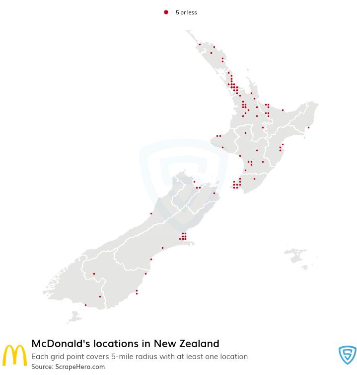 McDonald's store locations
