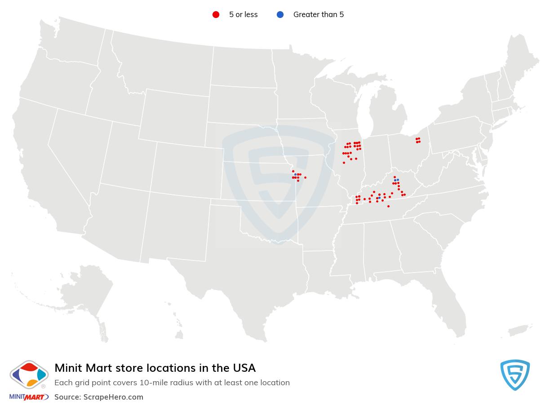 Minit Mart store locations