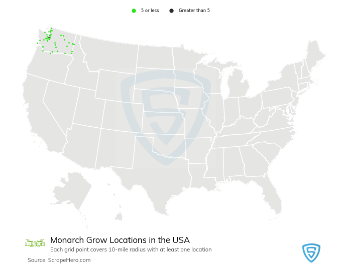 Monarch Grow store locations