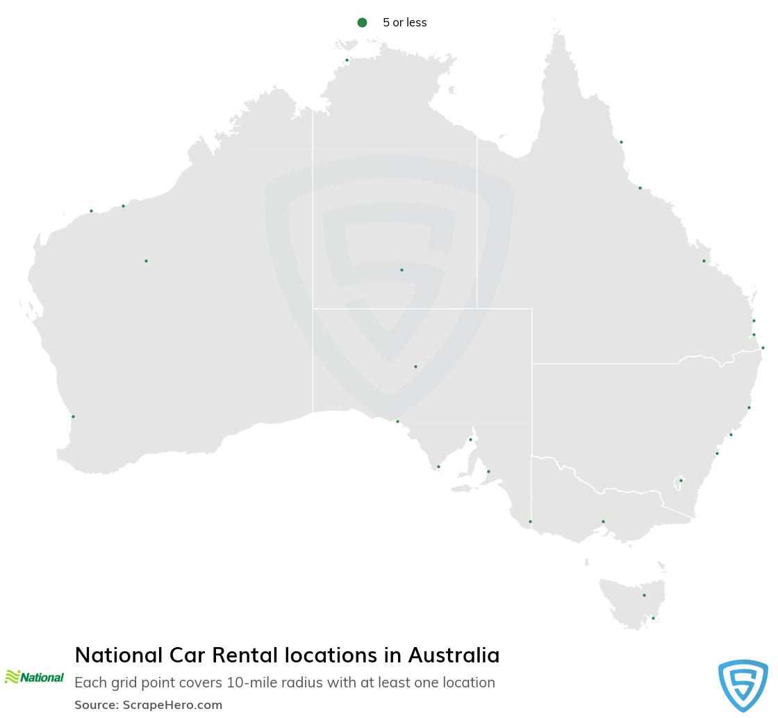 National Car Rental locations