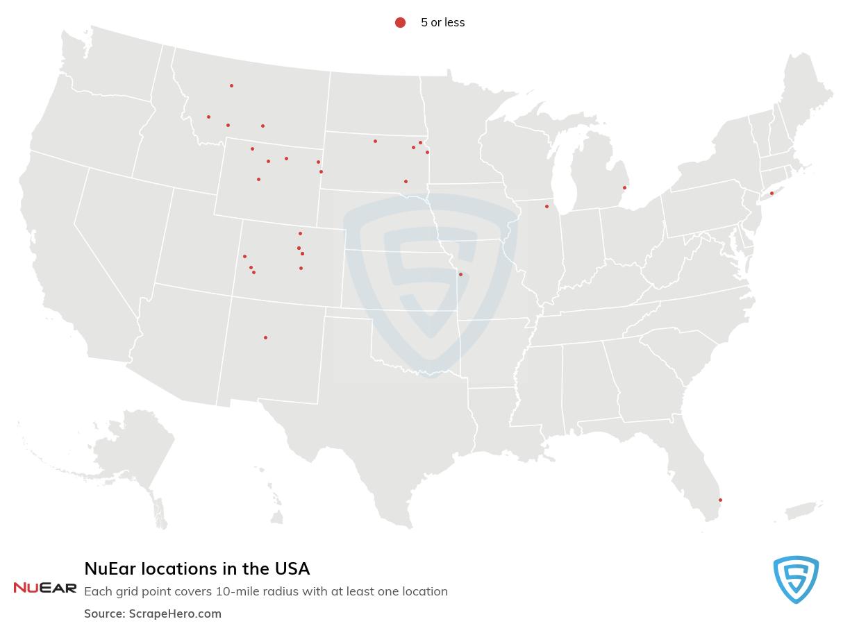 NuEar locations