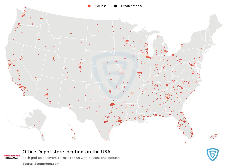 Office Depot locations