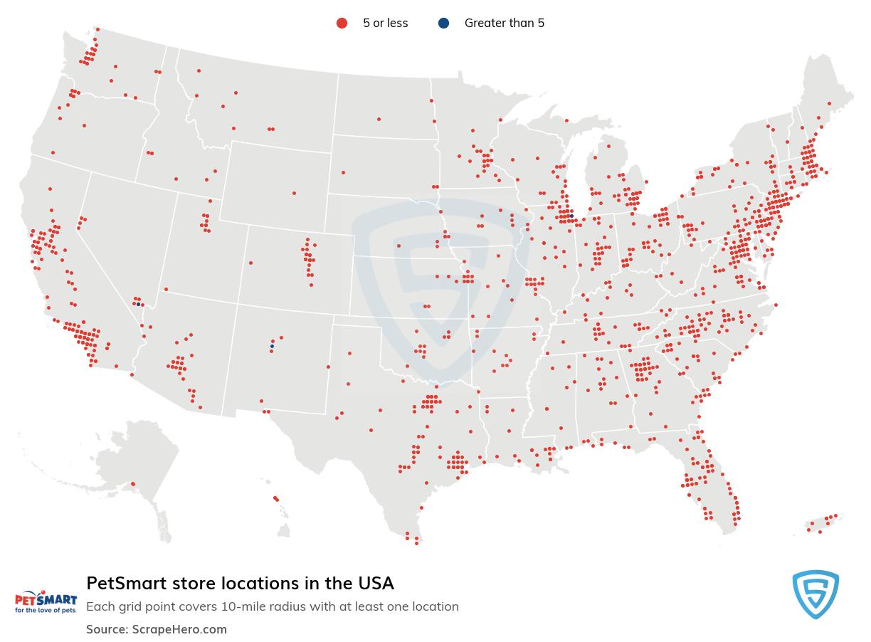 PetSmart store locations