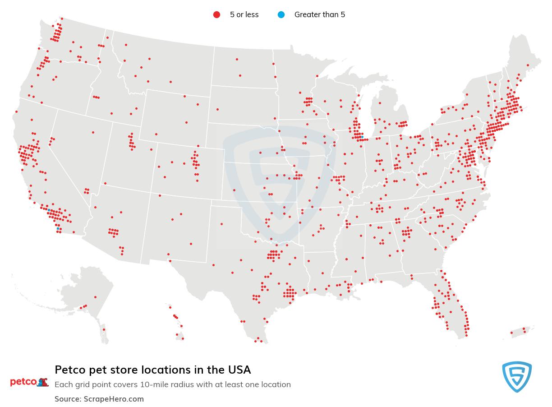 Petco store locations